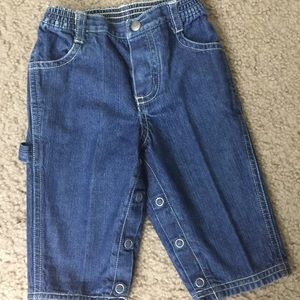 Pre owned Baby Gap denim pants for boys size 3-6.